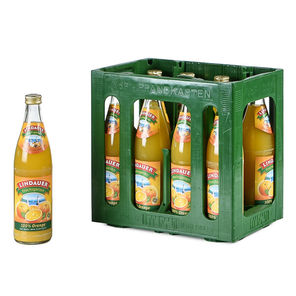 Lindauer Orange 100% 10 x 0,5l