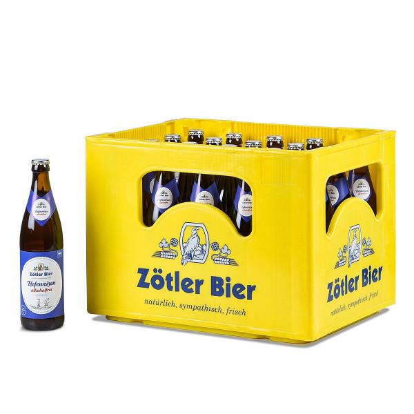 Zötler Hefe-Weißbier alkoholfrei 20 x 0,5l