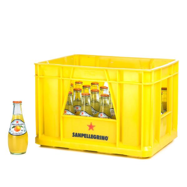 San Pellegrino Aranciata in der 0,25l Glasflasche