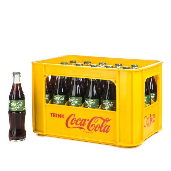 Coca Cola life in der 0,33l Flasche