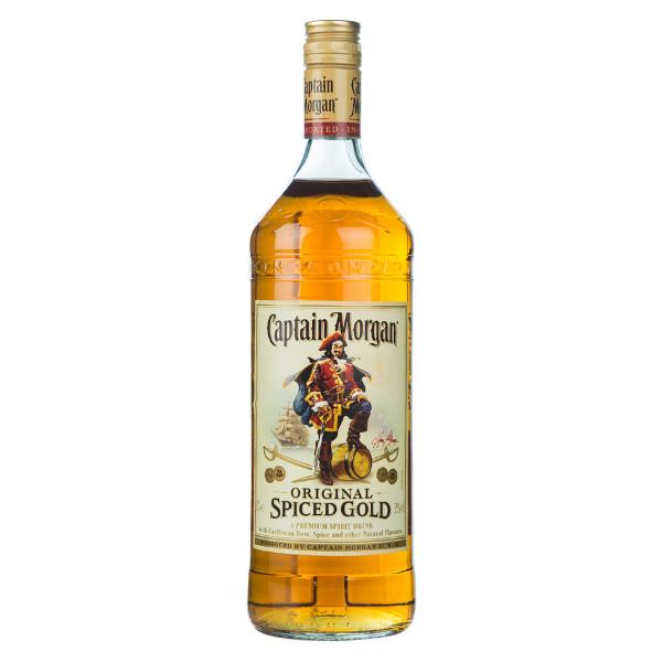 Captain Morgan Original Spiced Gold Rum 1l