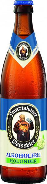 Franziskaner Alkoholfrei Holunder 11 x 0,5l