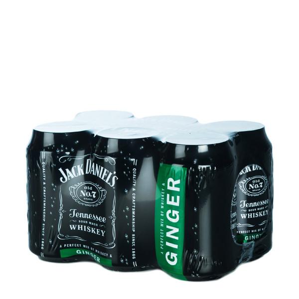 Jack Daniels & Ginger Mix 6 x 0,33l