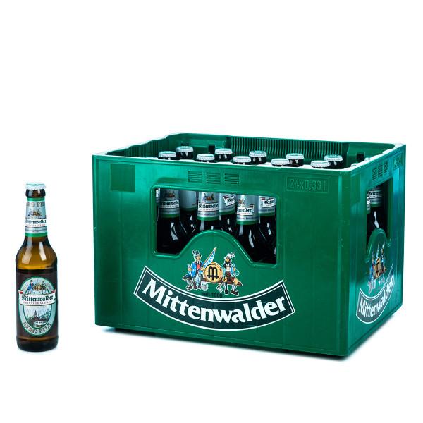 Mittenwalder Bergpils 24 x 0,33l