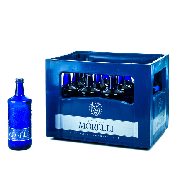 Acqua Morelli Frizzante 12 x 0,75l Glas