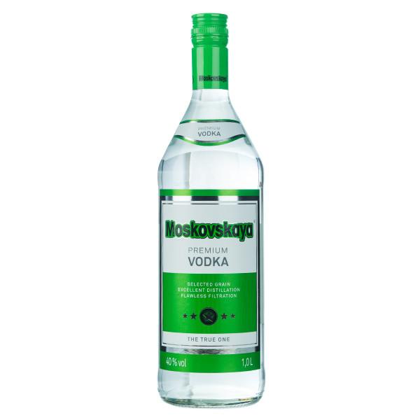 Moskovskaya Premium Vodka 1l