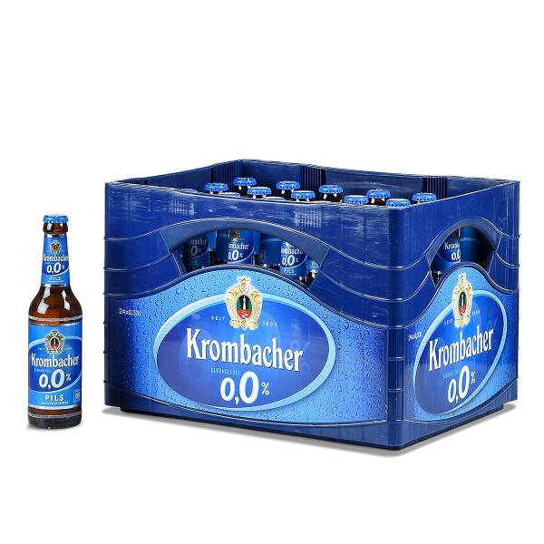 Krombacher 0,0% Pils alkoholfrei 24 x 0,33l