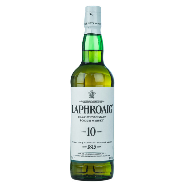 Laphroaig Islay Single Malt Scotch Whisky 10 Jahre 0,7l