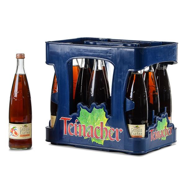 Teinacher Genuss Eistee Pfirsich 12 x 0,75l