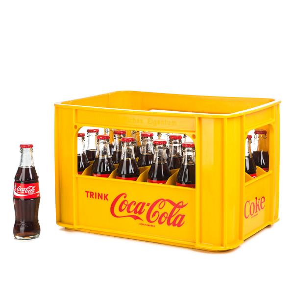 Coca Cola in der 0,2l Glasflasche