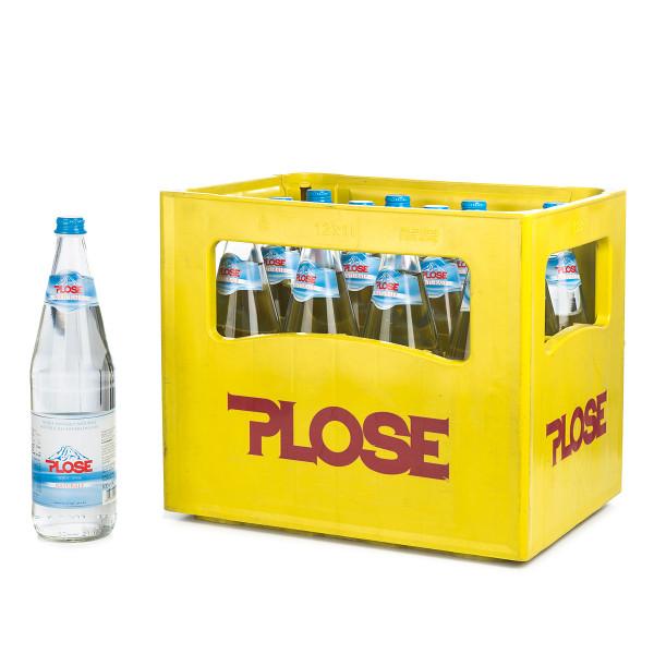 Plose Naturale in der 1l Glasflasche