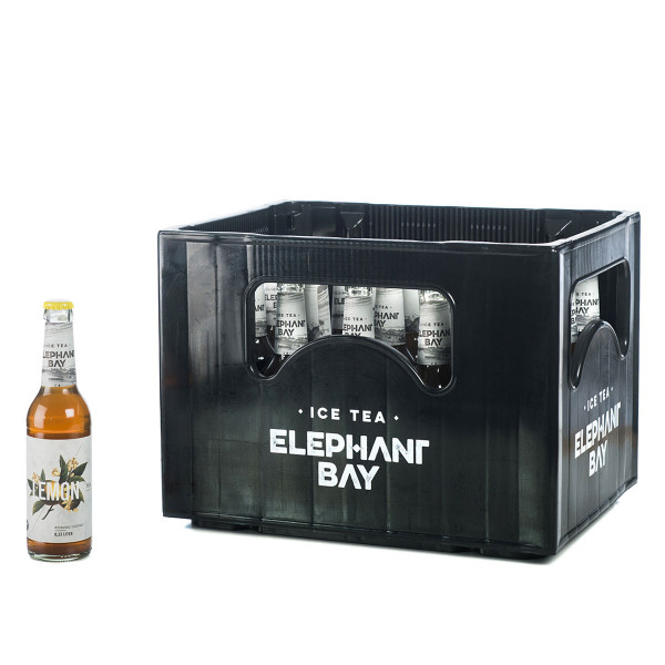 Elephant Bay Ice Tea Lemon 24 x 0,33l