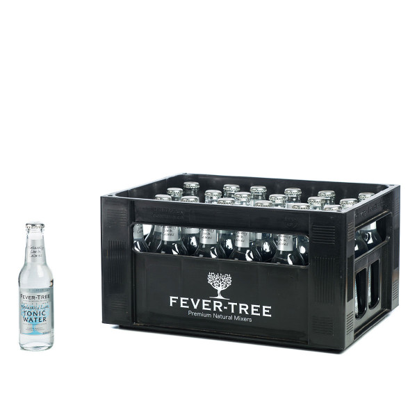 Fever Tree Naturally Light Tonic Water 24 x 0,2l