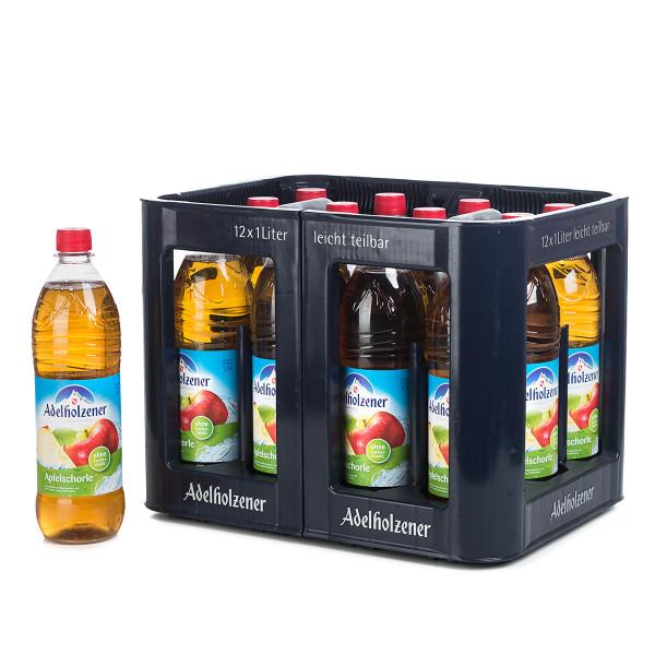 Adelholzener Apfelschorle 1l PET
