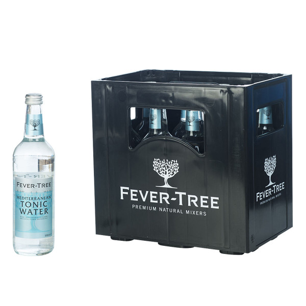 Fever-Tree Mediterranean Tonic 8 x 0,5l