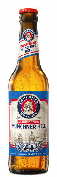 Paulaner Münchner Hell Alkoholfrei 24 x 0,33l