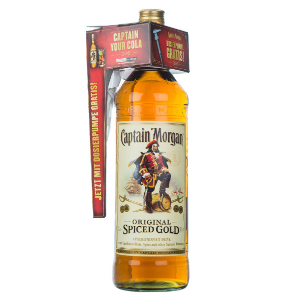 Captain Morgan Original Spiced Gold 3,0l