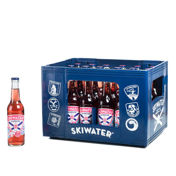 Skiwater Himbeere 24 x 0,33l