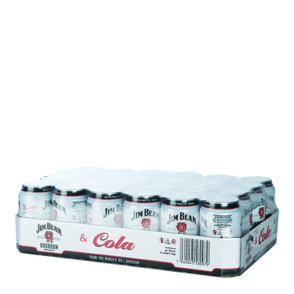 Jim Beam & Cola Mix 24 x 0,33l