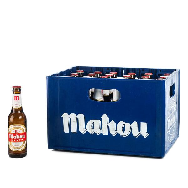 Mahou Bier 24 x 0,33l