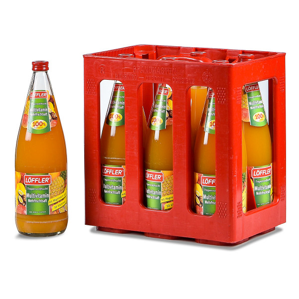 Löffler Multi-Vitamin-Saft 100% 6 x 1l