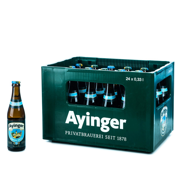 Ayinger Lager Hell 24 x 0,33l