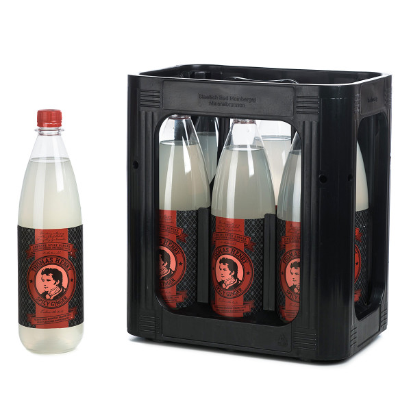 Thomas Henry Spicy Ginger in der 1l PET Flasche