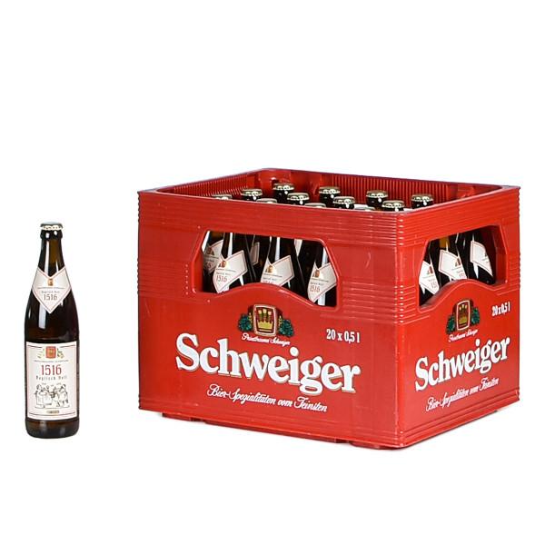 Schweiger Bayrisch Hell 20 x 0,5l