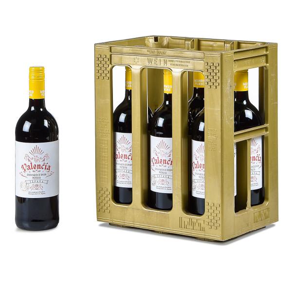 Kessler-Zink Valencia Rotwein lieblich 6 x 1l