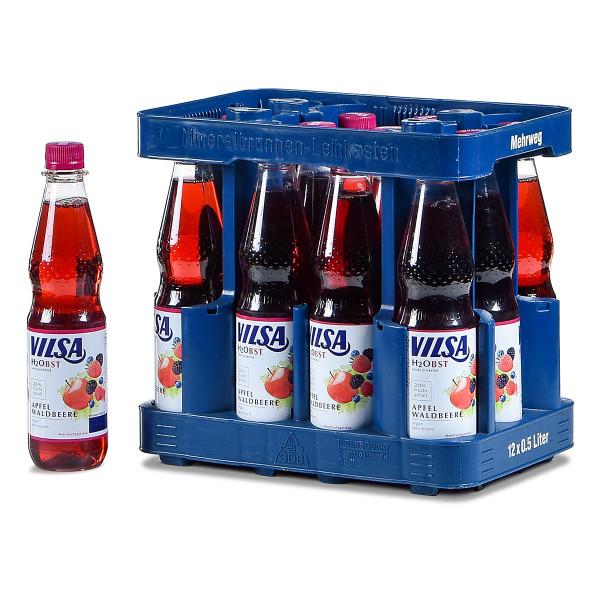 Vilsa H2Obst Apfel-Waldbeere 12 x 0,5l