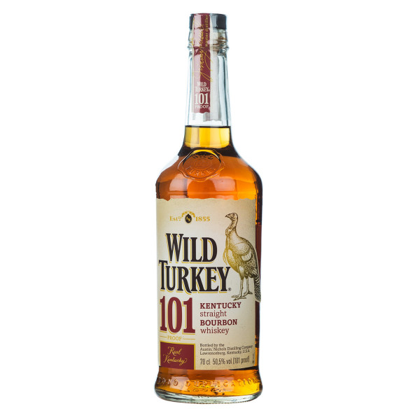 Wild Turkey 101 Bourbon Whiskey 0,7l