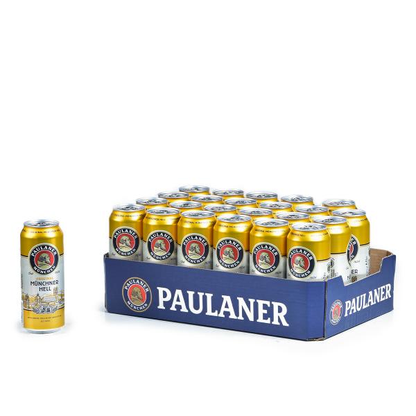 Paulaner Hell DOSE 24 x 0,5l