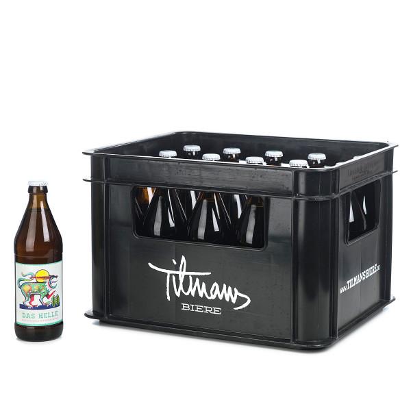Tilman's Helles in der 0,5l Glasflasche