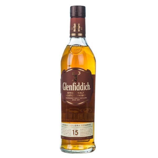 Glenfiddich Solera 15 Jahre Single Malt Scotch Whisky 0,7l