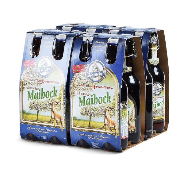 Kulmbacher Mönchshof Maibock 24 x 0,5l Bügelflasche