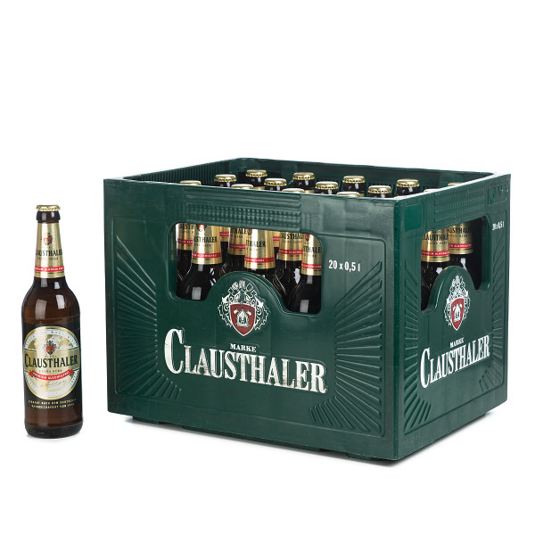 Clausthaler Extra Herb 20 x 0,5l
