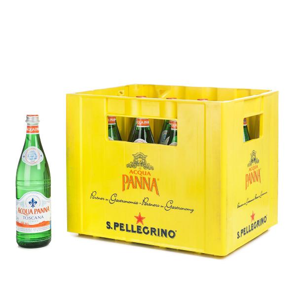 Acqua Panna Still 16 x 0,75l Glas