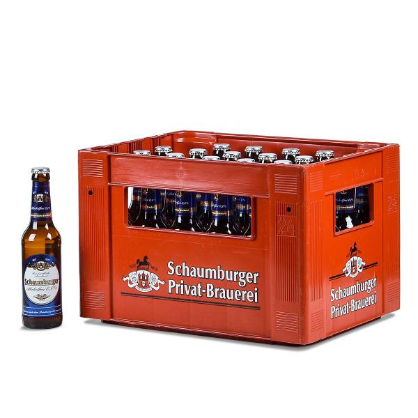 Schaumburger alkoholfrei 24 x 0,33l