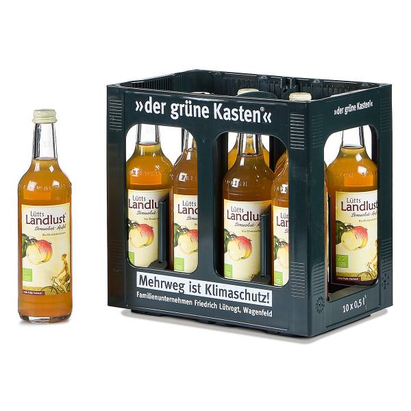 Lütts Bio Streuobst Apfel 10 x 0,5l