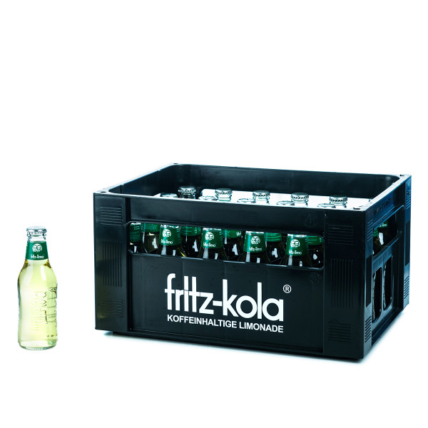 Fritz-Limo Melonenbrause 24 x 0,2l Glas