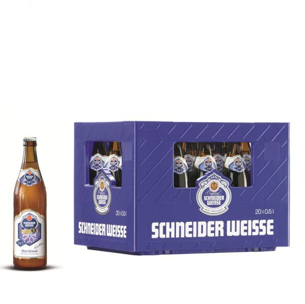 Schneider Weisse Kristall TAP2 20 x 0,5l