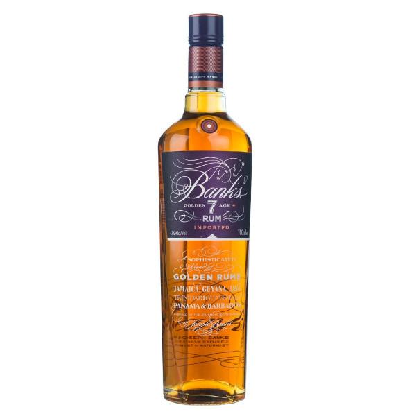 Banks Golden Age Rum 7 Jahre 0,7l
