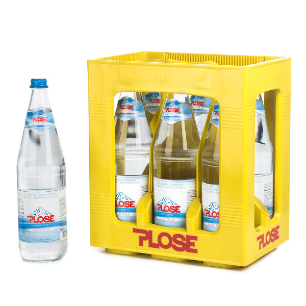 Plose Naturale in der 1l Glasflasche