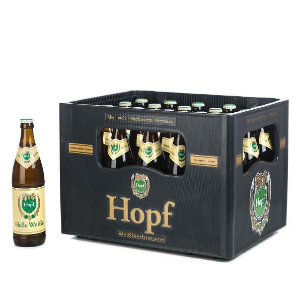 Hopf Helle Weiße 20 x 0,5l
