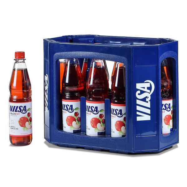Vilsa H2Obst Apfel-Kirsch 12 x 0,75l PET