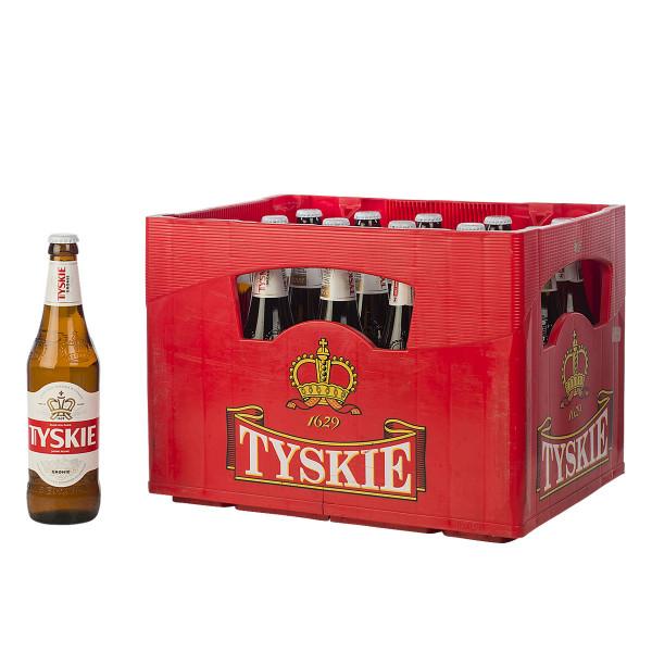 Tyskie Bier 20 x 0,5l