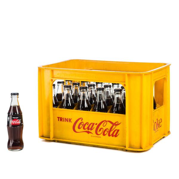 Coca-Cola Zero 24 x 0,2l Glas
