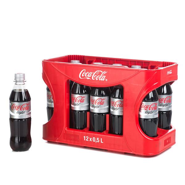 Coca-Cola light 12 x 0,5l im Kasten