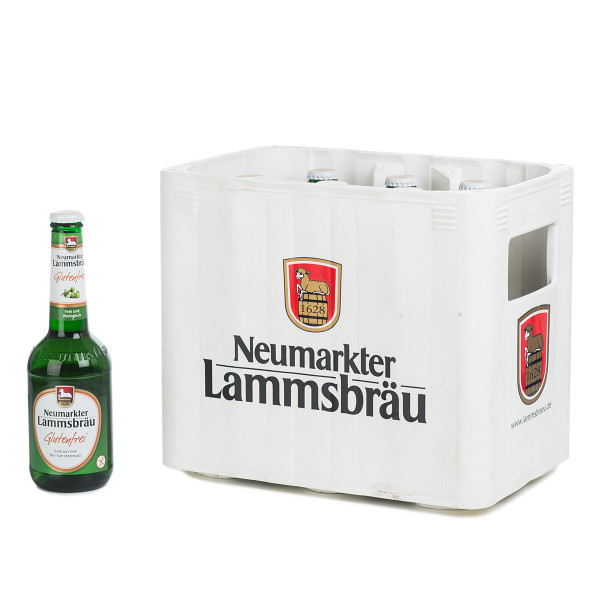Lammsbräu Glutenfrei 10 x 0,33l