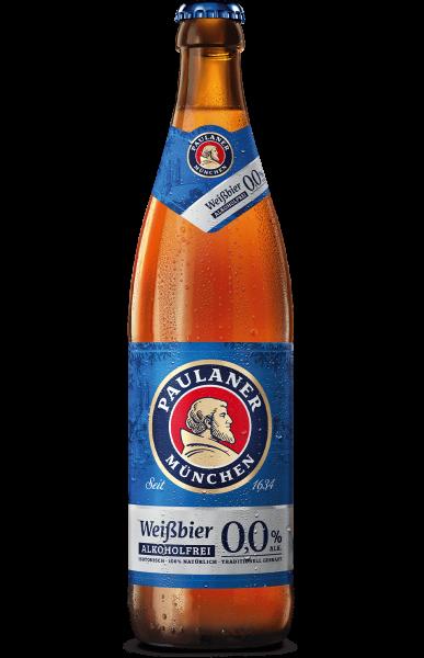 Paulaner Weißbier Alkoholfrei 0,0% 20 x 0,5l